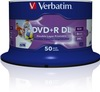 Verbatim DVD+R DL Double Layer 8.5 GB 8x Inkjet Printable