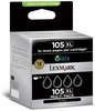 Lexmark 4-Pack 105XL Black High Yield Return Program Ink Cartridges
