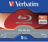 Verbatim BD-RE DL 50GB 2x