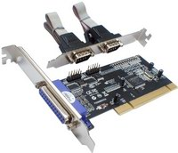 iTec PCI Card 2x Serial RS232 + 1x Parallel DB25